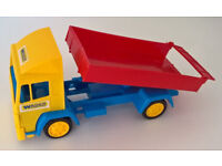 Box of toys 29 small delivery trucks Brand New!