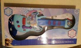 NEW Frozen guitar