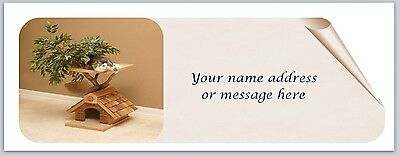 30 Personalized Return Address Labels Cat House Buy 3 get 1 free (bo 825)