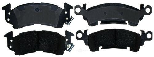 Disc Brake Pad Set-Ceramic Disc Brake Pad Front ACDelco Pro Brakes 17D819CH