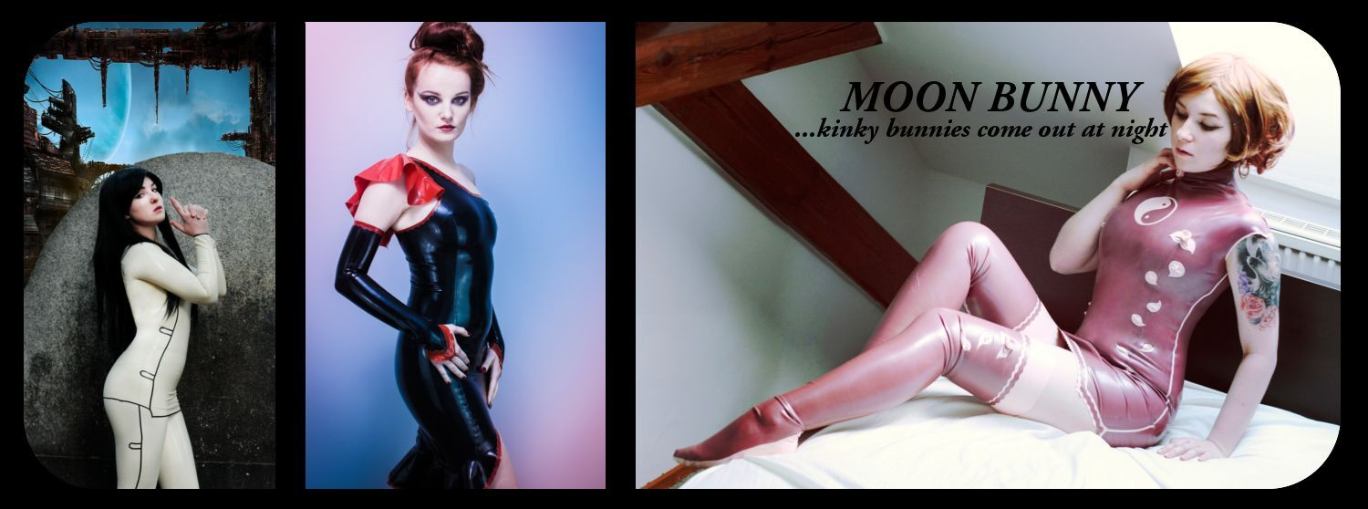 Moon Bunny Latex Clothing