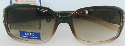 APT. 9 Hombre Brown Sunglasses with (Apt 9 Sunglasses)