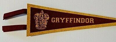 HARRY POTTER Gryffindor Pennant Flag AUTHENTIC ... FREE SHIPPING !!!