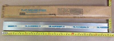 O1 Tool Steel Sheet 316 X 1-12 X 18 Simonds Flat Ground Steel Oil Hardening