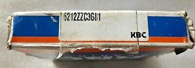 6212 Zzc3 Large Ball Bearing 6212 Zz C3 60x110x22 New Kbc Korea Box Pack