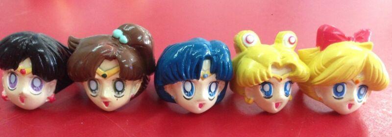 Sailor Moon Head Rings Promo Rare