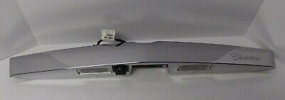 Cadillac SRX 2013-2015 Liftgate Panel Applique With Camera OEM 22954459