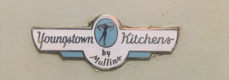 Youngstown Kitchens by Mullins, Vintage Metal Cabinets (and Sink) Set