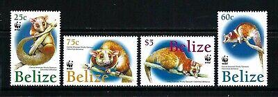 Belize 2004 Sc#1177-80  WWF-Central American Wooly Opossum  MNH Set $11.00