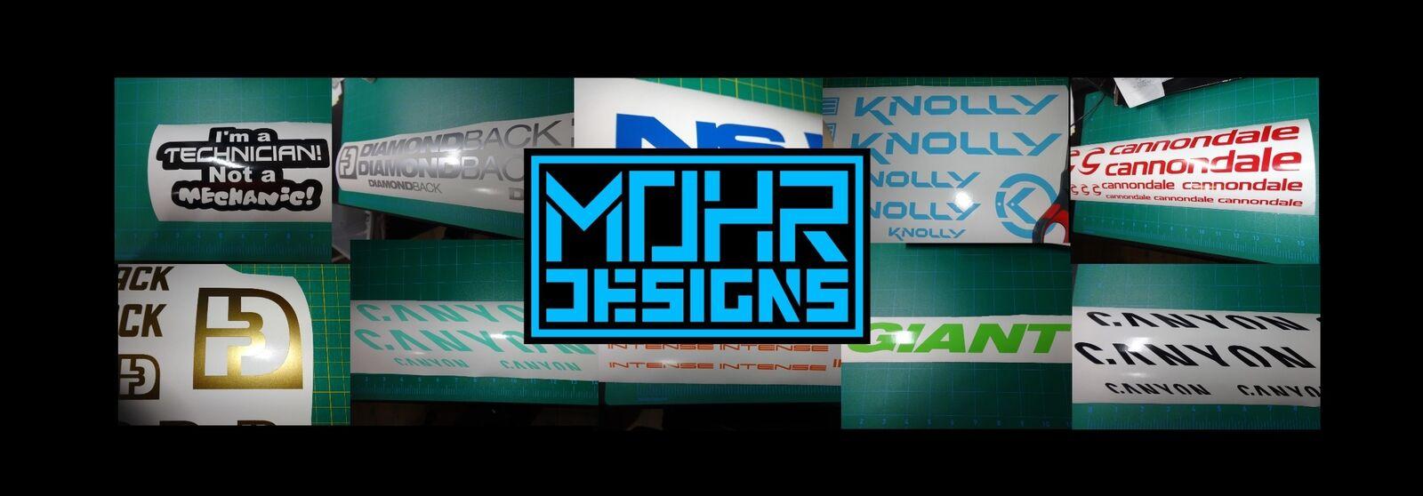 Mohr Designs Decals