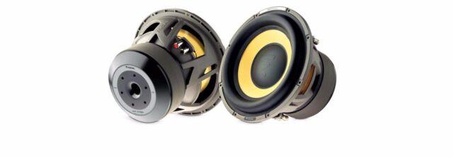 """Focal E25KX - 10"""" Car Audio Component Subwoofer."""