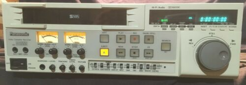 Panasonic AG-DS555  Professional HiFi Super VHS Editing Video Cassette Recorder