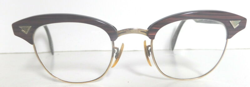 Granny glasses, gold filled, vintage  (S27)