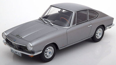 1968 BMW 1600 GT Silver by BoS Models LE of 504 1/18 Scale New!