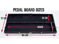 large pedal board custom pedal board pedal board case guitar pedal board pedal guitar pedals
