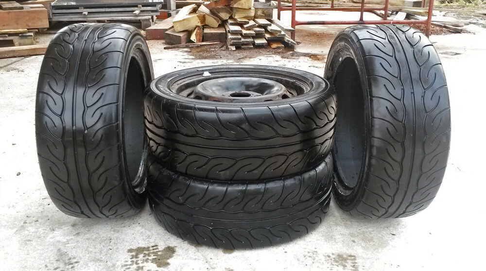Yokohama Advan Neova Ad08r Competition Trackday Summer Tyres In 195 50r15 82v Size X 4 For Sale