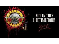 Guns N' Roses - 2 x Tickets (GOLDEN CIRCLE) Slane Castle, Ireland 2017 - SOLD OUT