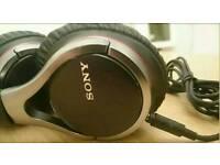 Unused Sony MDR-10RC Overhead folding Headphones-black