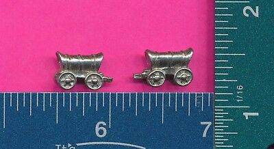 100 wholesale pewter covered wagon figurines m11064