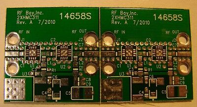 Develop Pcb For Hittite 2-stage Hmc311lp3 Mmic Amplifier, Qty.2