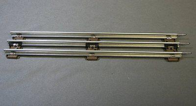 LIONEL 027 STANDARD 8.75 STRAIGHT TRAIN TRACK SECTION o27 3 rail tubular 6-65038