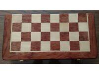 Brand new wooden chess set