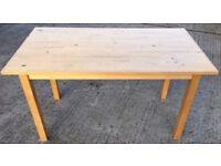 """IKEA """"NORDEN"""" BEECH TABLE"""