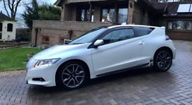Honda CRZ ZF1 GT. Top spec with leather, satnav, glow and carbon dynamic pack