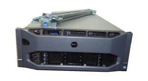 Dell PowerEdge R910 Server 4x Xeon 10 Core 2.40GHz (E7-4870) 256GB 20-CORES 4X600GB SAS 10K