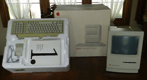 Vintage Apple Macintosh Classic Computer Model No. M0420