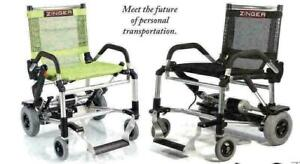 ZINGER CHAIR is now in Alberta at www.MyScooter.ca