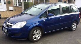 Vauxhall Zarfia Exclusive 2009 1.6, 5 door, one owner , low milage, service history, long MOT