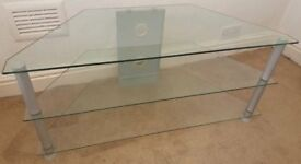 Glass TV Cabinet / TV Stand