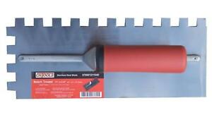 Notched Trowels , Plastering and; Finishing Trowel Reg $18 Sale $10
