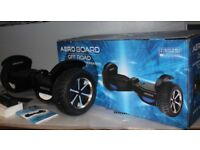 All Terrain Aero Board Self Balance XL 8mph L.E.D. smart Hover segway Off Road
