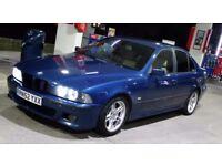 BMW E39 530D , AUTO, M SPORT, TOPAZ BLUE