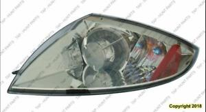 Tail Lamp Driver Side Coupe/Spyder Without Amber Bulb High Quality Mitsubishi Eclipse 2006-2012