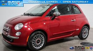 2012 Fiat 500C Lounge Convertible CUIR/MAGS