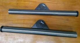 Metal worktop support legs