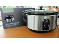 Lakeland slow cooker. 3.5Litre Seldom used so as new at just