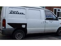 Very reliable little van.good mpg .extra seat with belt. Long mot.fully lined rear.