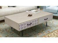 Grey coffee table *brand new*