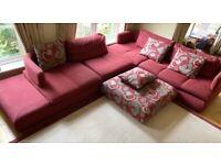Roche-Bobois Sofa - Right Hand Facing Modular Corner - Pre-Owned, Was £8750 New