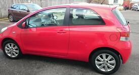 Toyota Yaris Hatchback 1.33 VVT-i TR (3 door) Chilli Red Low Mileage BARGAIN