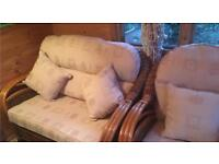Conservatory Sofa and Armchairs