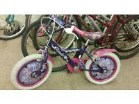 Annabelle Child's puch bike