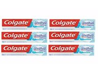 Colgate Max Fresh Acti-Clean with Smart Foam Toothpaste bulk purchase 6-pack 100mL each