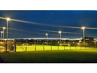 Muga Pitch Slots Available to hire