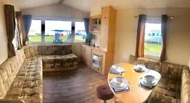 3 BEDROOM STATIC CARAVAN FOR SALE AT CRIMDON DENE - FIRST TO SEE WILL BUY - SANDY BEACH - HARTLEPOOL