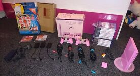 Pink ps2 slimline in excellent condition